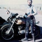 GEM & his CZ500 Race Bike