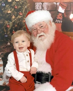 Sterling Glasheen (2000) With Santa